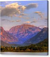 Baldy Shadow Mountain Lake Canvas Print