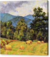 Bales Of August Canvas Print