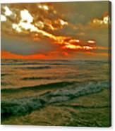 Bali Evening Sky Canvas Print