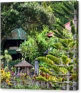 Bali Gardens Canvas Print