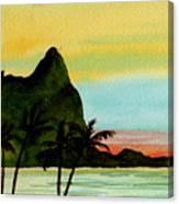 Bali Hi Kauai Canvas Print