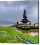 Bali Lake Temple Canvas Print