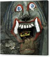 Bali Mask Canvas Print