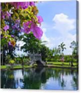 Bali Reflections Canvas Print