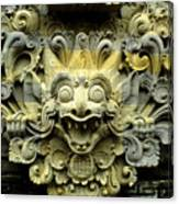 Bali Temple Art Canvas Print