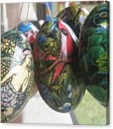 Bali Wooden Eggs Artwork Canvas Print