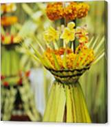 Balinese Ceremony Canvas Print