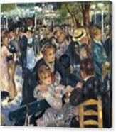 Ball At The Moulin De La Galette 1876 Canvas Print