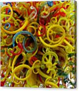 Ball Of Chihuly Glass Canvas Print
