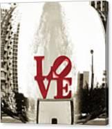 Ball Of Love Canvas Print