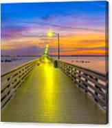 Ballast Point Sunrise - Tampa, Florida Canvas Print