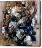 Ballerina Bouquet Canvas Print