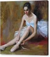 Ballerina D Canvas Print