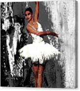 Ballerina Dance 073 Canvas Print