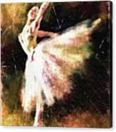 Ballerina Girl Canvas Print