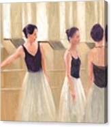 Ballerinas Waiting Canvas Print