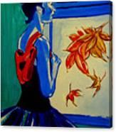 Ballerine En Automne Canvas Print