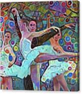 Ballet Carnival Canvas Print