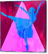 Ballet Dancer Canvas Print