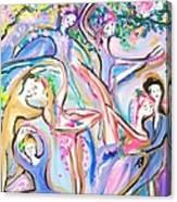 Ballet Garden Party  Canvas Print