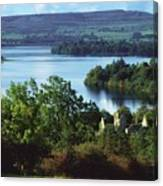 Ballindoon Abbey, Lough Arrow, County Canvas Print