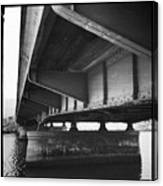 Ballona Creek Bridge Canvas Print