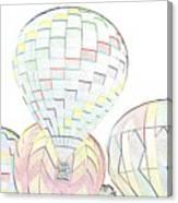 Balloon Day Canvas Print