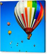 Balloon Festival Canvas Print
