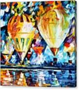 Balloon Festival New Canvas Print