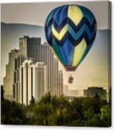 Balloon Over Reno Canvas Print