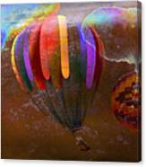 Balloon Race Canvas Print