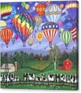 Balloon Race Two Canvas Print