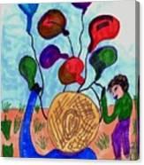 Balloon Sales Canvas Print