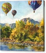 Balloons At Twin Lakes Canvas Print