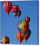 Balloons In Albuquerque Canvas Print