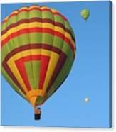 Balloons New Mexico Canvas Print