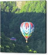 Balloons Over Letchworth Canvas Print