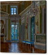 Ballroom Of The Lazienki Palace Canvas Print
