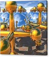 Balls And Jacks II Canvas Print