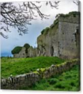 Ballyboggan Abbey, Co. Meath Canvas Print
