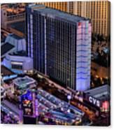 Bally's Hotel, Las Vegas Canvas Print