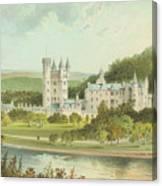 Balmoral Castle, Scotland Canvas Print