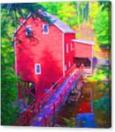 Balmoral Grist Mill Museum Canvas Print