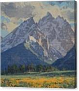 Balsamroot In Bloom Canvas Print
