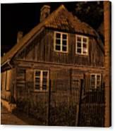 Baltic Houses Canvas Print