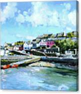 Baltimore Harbour County Cork Canvas Print