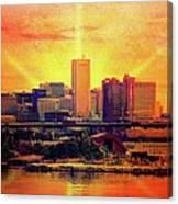 Baltimore Horizon Canvas Print
