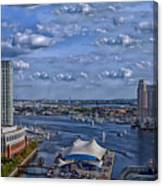 Baltimore Maryland Inner Harbor Canvas Print