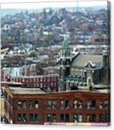 Baltimore Rooftops Canvas Print