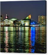 Baltimore Skyline Canvas Print